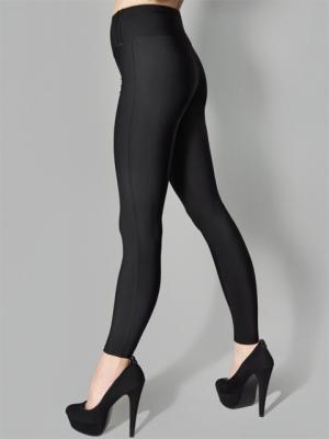 Леггинсы-брюки, модель SLIM 853 MARILYN. Цвет: черный