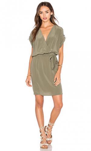 Мини платье maya LA Made. Цвет: зеленый