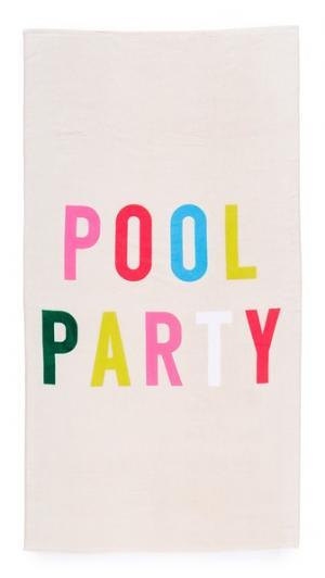 Большое пляжное полотенце Pool Party ban.do