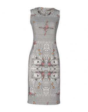 Платье до колена PICCIONE•PICCIONE. Цвет: белый