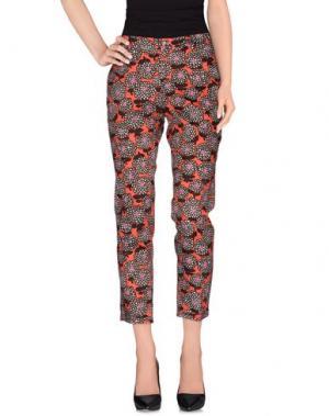 Повседневные брюки ALTEA dal 1973. Цвет: коралловый