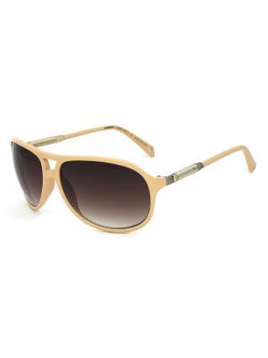 Cолнцезащитные очки Exenza. Цвет: бежевый