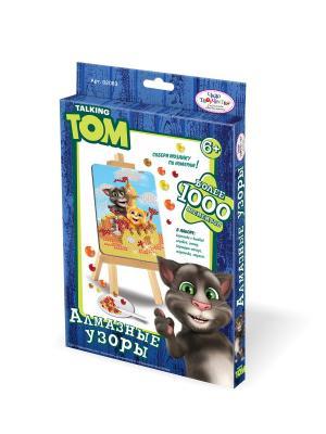Чудо-творчество. Talking Friends Мозаика-алмазные узоры Том и Рыжик. Чудо-творчество. Цвет: белый, красный, желтый