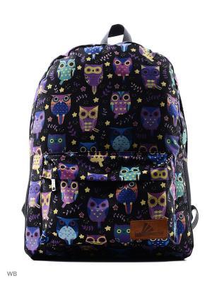 Рюкзак ПодЪполье. Цвет: голубой, фиолетовый, черный