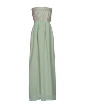 Длинное платье MALAICA. Цвет: светло-зеленый