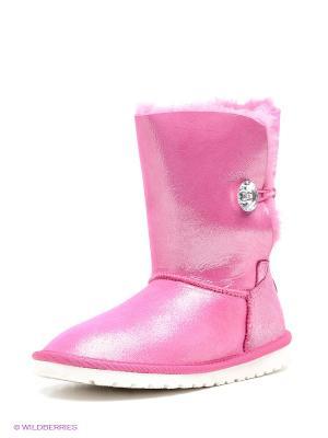Угги KEDDO. Цвет: розовый