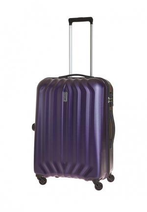 Чемодан 68л (M) Carlton. Цвет: фиолетовый