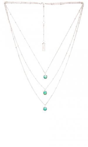 Ожерелье Melanie Auld. Цвет: металлический серебряный