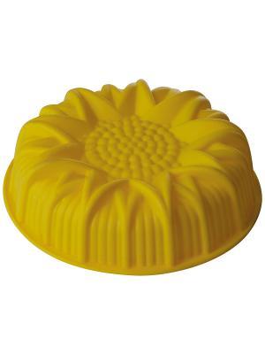 Форма для выпечки Regent inox. Цвет: желтый