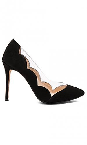 Туфли на каблуке tulip RAYE. Цвет: черный