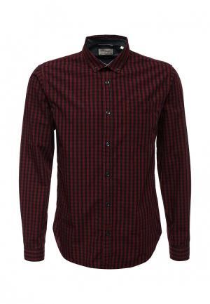 Рубашка Shine Original. Цвет: бордовый