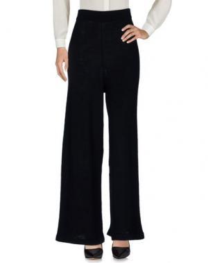 Повседневные брюки VIRGINIA BIZZI. Цвет: черный