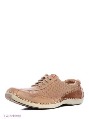 Туфли El Tempo. Цвет: светло-коричневый