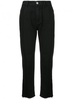 Классические джинсы Quartz Vale. Цвет: чёрный
