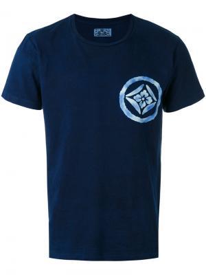Базовая футболка Blue Japan. Цвет: синий