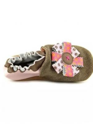 Ботинки MaLeK BaBy. Цвет: коричневый, розовый