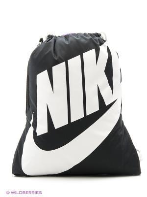 Рюкзак NIKE HERITAGE GYMSACK. Цвет: белый