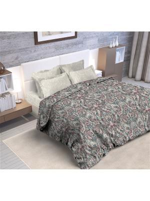 Комплект постельного белья Узоры ПерсииЕвроспальный Your Dream. Цвет: серый, белый