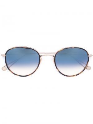 Солнцезащитные очки Paloma Garrett Leight. Цвет: металлический