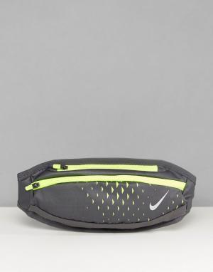 Nike Running Серая сумка на пояс RL.92-057A. Цвет: серый