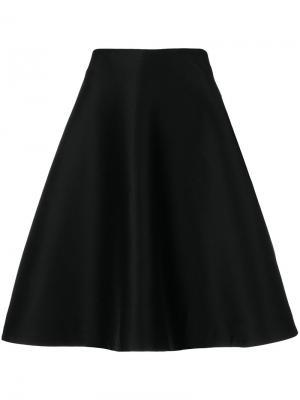 Юбка А-образного силуэта Toteme. Цвет: чёрный