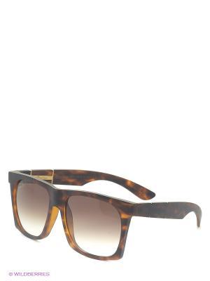 Солнцезащитные очки B 231 C2 Borsalino. Цвет: коричневый