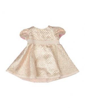 Платье I PINCO PALLINO I&S CAVALLERI. Цвет: платиновый