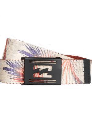 Ремень REVERT BELT (SS17) BILLABONG. Цвет: темно-фиолетовый, бордовый, кремовый