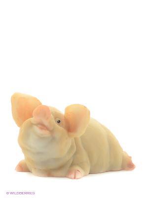 Фигура мал. Свинья Зритель Sealmark. Цвет: розовый