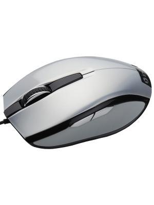 Мышь MU104 silver  Intro USB. Цвет: серый