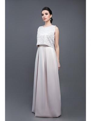 Платье Tavifa wedding fashion. Цвет: светло-бежевый