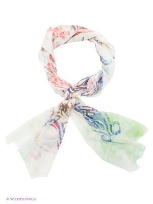 Платок Venera. Цвет: салатовый, молочный