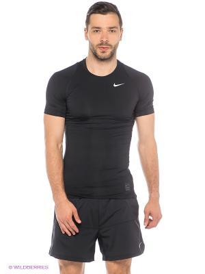 Футболка M NP TOP COMP SS Nike. Цвет: черный
