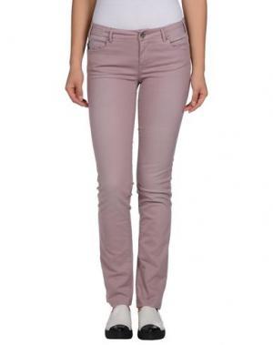 Повседневные брюки TRAMAROSSA. Цвет: пастельно-розовый