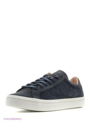 Кеды Courtvantage Adidas. Цвет: синий