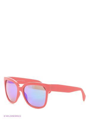 Солнцезащитные очки Vittorio Richi. Цвет: синий, коралловый