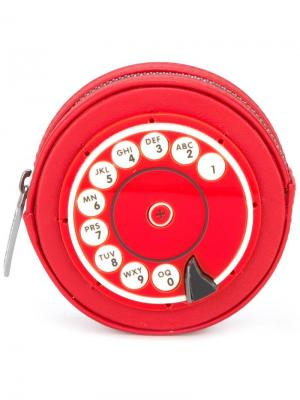 Кошелек для монет Phone Yazbukey. Цвет: красный