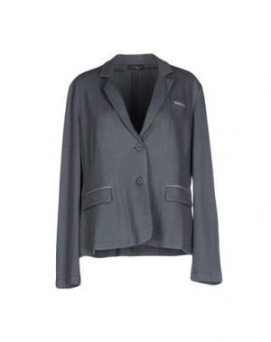 Пиджак PESERICO. Цвет: свинцово-серый