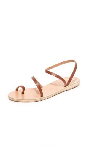 Сандалии Alpli Eleftheria Ancient Greek Sandals. Цвет: коричневый