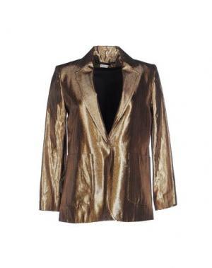 Пиджак LES PRAIRIES DE PARIS. Цвет: бронзовый
