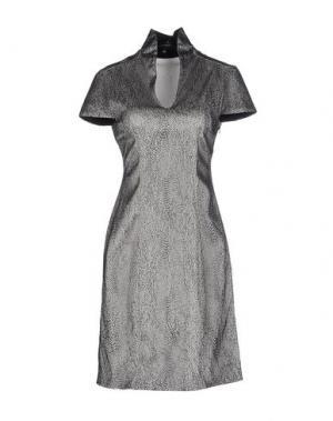 Короткое платье IRIS VAN HERPEN. Цвет: светло-серый