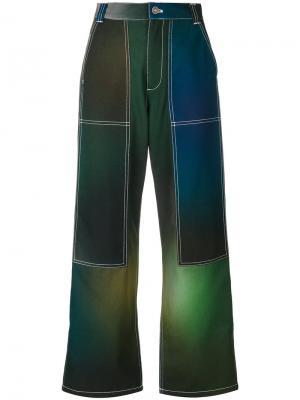 Брюки Northern Lights Kenzo. Цвет: зелёный