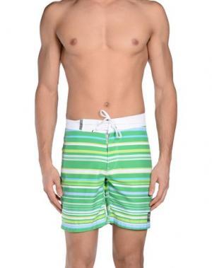 Пляжные брюки и шорты INSIGHT SWIM. Цвет: светло-зеленый