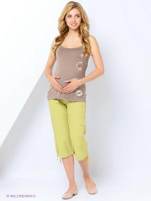 Блузка для беременных impressmama. Цвет: бежевый
