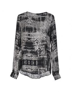 Блузка THE TEXTILE REBELS. Цвет: стальной серый