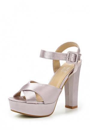 Босоножки WS Shoes. Цвет: розовый