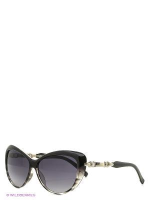 Солнцезащитные очки Vittorio Richi. Цвет: серый, черный