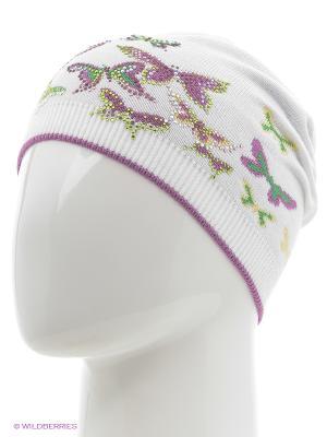 Шапка Totti. Цвет: лиловый, белый