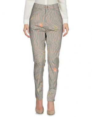 Повседневные брюки SONIA DE NISCO. Цвет: бежевый