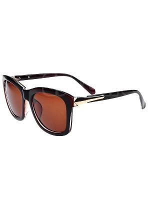 Солнцезащитные очки Leya.. Цвет: черный, коричневый